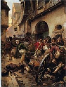GUERRA de La VENDÉE (combat de Cholet, 17 octubre 1793)