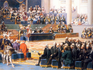 5 maig 1789. Versalles. Obertura dels ESTATS GENERALS.