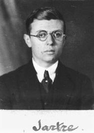Jean Paul Sartre, 1924 E.N.S. París