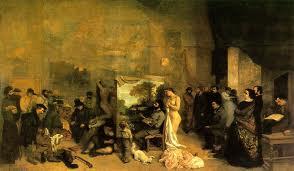 L'atelier du peintre, Gustave Courbet (1819-1877)