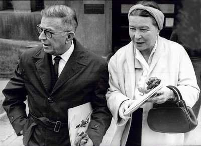 Jean Paul Sartre i Simone de Beauvoir